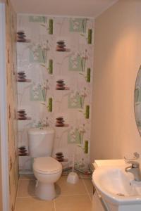 A bathroom at Arina House