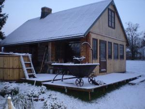 Auru Cīruļi during the winter