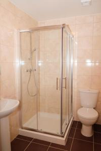 A bathroom at Access Shepherd's Bush