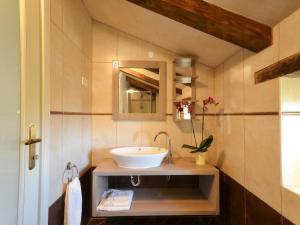 A bathroom at Istrian Villa Fumica