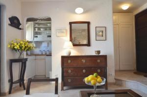 A kitchen or kitchenette at Sea View Apartment Olja