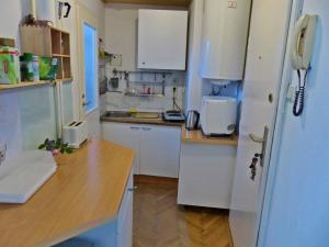 A kitchen or kitchenette at Apartment Naschmarkt
