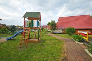 Children's play area at Ośrodek Wczasowy Domino Bis