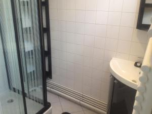 Salle de bains dans l'établissement Gite a Etaples