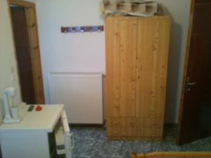 Cuisine ou kitchenette dans l'établissement Vogiatzis Rooms