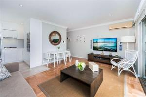 A seating area at Bondi Executive - A Bondi Beach Holiday Home