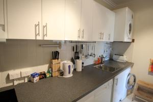 A kitchen or kitchenette at Syrena on the Swan