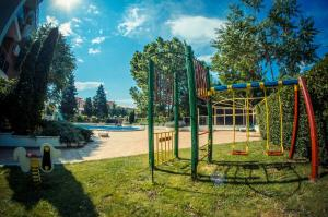 Children's play area at Golden Fort Apartments