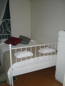 Un pat suprapus sau paturi suprapuse la Konakli Apartments Izmir