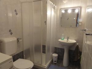 A bathroom at Apartment Zoki Driovier