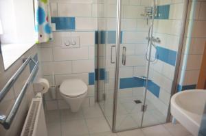 Ein Badezimmer in der Unterkunft Zwettltalblick