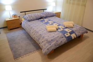 Postelja oz. postelje v sobi nastanitve Apartment Likar