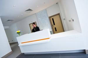 The lobby or reception area at Staycity Aparthotels Greenwich High Road