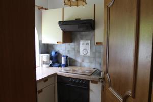A kitchen or kitchenette at Ferienwohnung Rosmarie Seelos