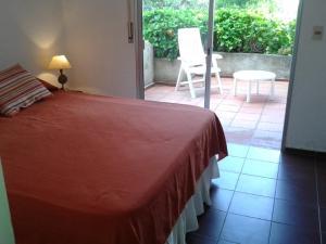 Cama o camas de una habitación en Apart Hotel Tupungato