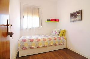 A bed or beds in a room at Apartment Arquímedes