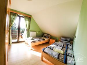 Postelja oz. postelje v sobi nastanitve Apartments Jasa