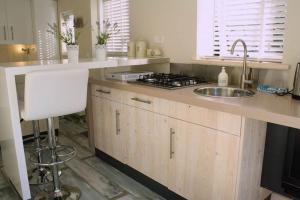 A kitchen or kitchenette at Apartment Silvamare