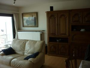 Een zitgedeelte bij Apartment Orion 14