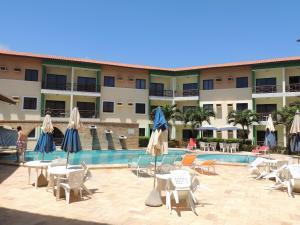 The swimming pool at or near Vilamar Res 2Qts Porto das Dunas