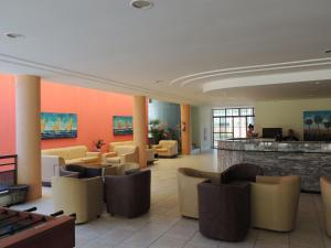 The lounge or bar area at Vilamar Res 2Qts Porto das Dunas