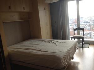 Een bed of bedden in een kamer bij Apartment Nord Vrie 8D