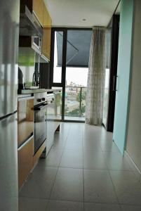 A kitchen or kitchenette at Apartaments Can Negret