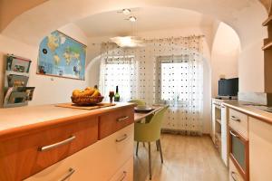 Kuhinja oz. manjša kuhinja v nastanitvi Apartment Sweethome Ljubljana