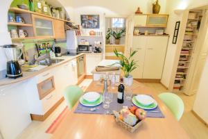 Restavracija oz. druge možnosti za prehrano v nastanitvi Apartment Sweethome Ljubljana