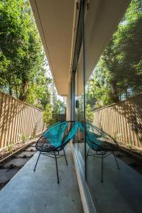 A balcony or terrace at Orange Serviced Apartment