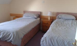 A bed or beds in a room at Tombeck House