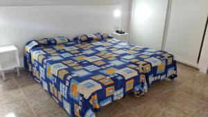 A bed or beds in a room at Apartamentos Chinyero