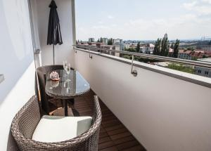 A balcony or terrace at Cityview
