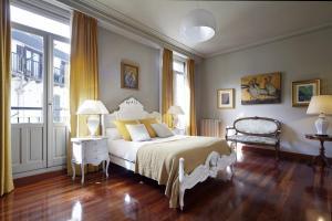 Cama o camas de una habitación en Vista Urumea Apartment by FeelFree Rentals