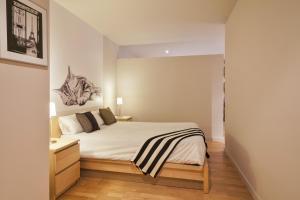 En eller flere senger på et rom på Urquinaona