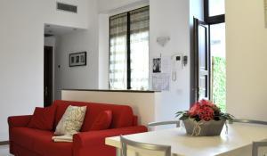 A seating area at La Terrazza in Conti Biglia