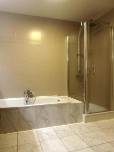 A bathroom at Private House