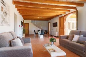 Zona de estar de Villa Caimari