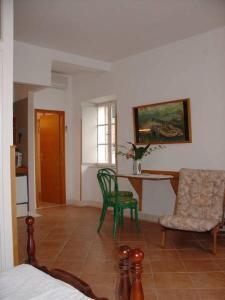 Area soggiorno di Villa Birimisa
