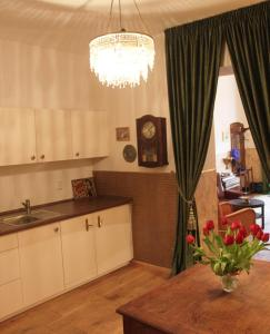 Köök või kööginurk majutusasutuses Refugium der Liebe in Berlin