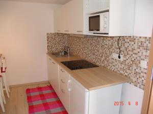 A kitchen or kitchenette at Apartments Lana