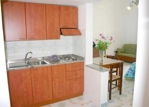 A kitchen or kitchenette at Ludovica Apartment Type B