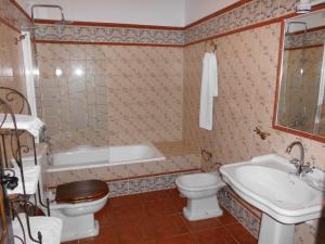 A bathroom at Apartamentos Trinidad