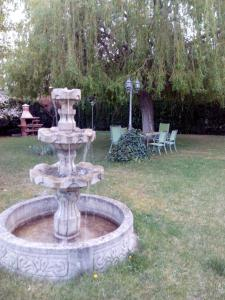 A garden outside casa chalet El Sotillo