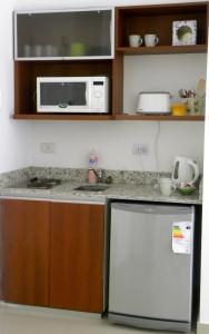 A kitchen or kitchenette at Apartamento Ocio