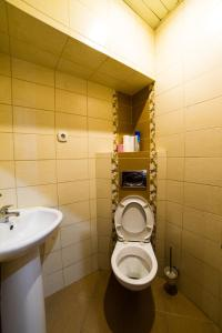 Ванная комната в Апартаменты Амулет
