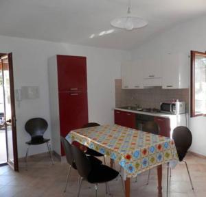 A kitchen or kitchenette at Villa Giulia