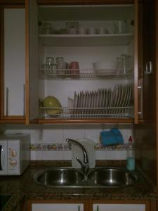 A kitchen or kitchenette at Casa Lea