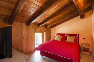 Кровать или кровати в номере Emilio Apartments