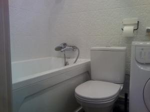 A bathroom at Peterhof Apartments